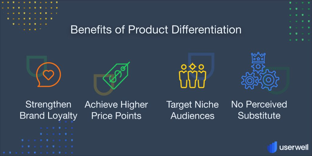 Benefits of product differentiation